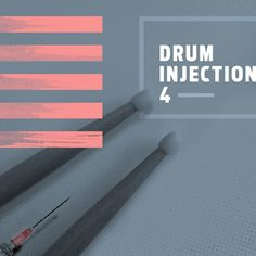 Drum Injection 4 Drums, Free Stuff, Drum Sets, Drum, Drum Kit
