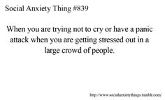 This is a serious struggle. It happens more than I'd like to admit. - socialanxietythings