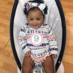 Carter Brielle - 9 months  Gorgeous baby girl (18 Apr 2016)