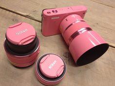 I really want this pink camera. Girly Things, Cool Things To Buy, Things To Come, Random Things, Photography Camera, Photography Tips, Amazing Photography, Travel Photography, Pink Love