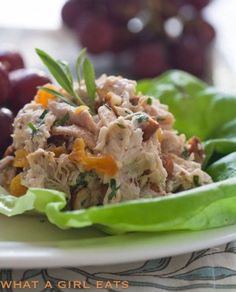 Trader Joe's Copycat Chicken Salad with Apricots, Almonds and Tarragon.