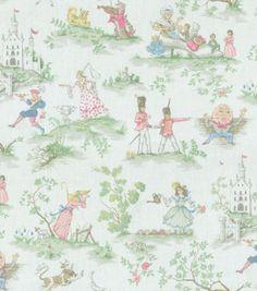 Home Decor Print-Covington Over The Moon Cornice or curtain for the kids' bathroom!