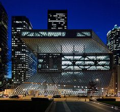 Seattle Central Public Library | by @archphotographr