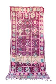Stunning rugs hand-knotted by Berber women of the Azilal tribes in the High Atlas Mountains of Morocco. Etsy Vintage, Vintage Rugs, Types Of Rugs, Pink Rug, Boho Chic, Bohemian Rug, Hand Weaving, Coupon, Spiritual Beliefs