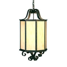 2nd Ave Design Musetta 4 Light Outdoor Pendant Finish: Gilded Tobacco, Shade Type: Real Mica