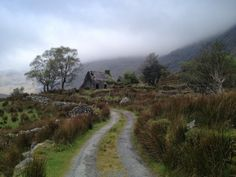 """We hiked here this spring. Beautiful! """"Ruin in Ireland's Black Valley."""""""