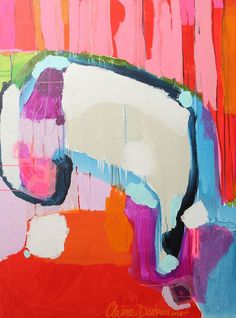 claire desjardins #colour #abstract #painting
