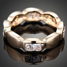 Wei Hua Elegant Couple Gemstone Ring