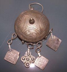 Berber Pendant/Prayer box 1920
