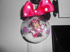 Minnie Mouse is the girl for llittle ones around 2 and 3. Name 3rd birthday on the back. Marlene Ulmer
