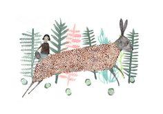 Vintage illustration Hare Illustration, Watercolor Illustration, Animal Illustrations, Freelance Illustrator, Art Wall Kids, Picture Design, Decoration, Wall Art Prints, Sketches