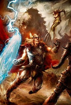 The Mighty Thor and Loki