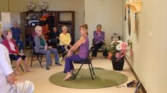 """Songs : Yoga Music """"Can't Stop the Feeling"""" in my Body Chair Yoga Dance with Sherry Zak Morris Fitness & Diets : Move it Or Lose It source for fitness Motivation & News Yoga Music, Yoga Dance, Senior Activities, Physical Activities, Fitness Diet, Yoga Fitness, Pilates, Cant Stop The Feeling, Chair Exercises"""