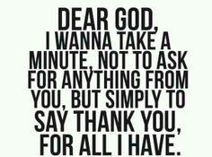 Thank you, Allah