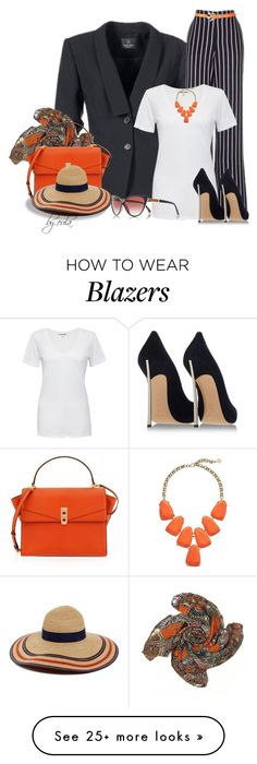 """""""Wide Leg Trousers (Outfit Only) Please Read"""" by eula-eldridge-tolliver on Polyvore featuring Cotton Citizen, Casadei, Henri Bendel, Kendra Scott, River Island and Eugenia Kim"""