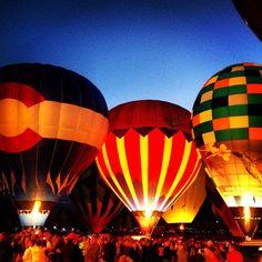 Aspen Snowmass Hot Air Balloon Festival, Old Snowmass, CO. Photo by Annie Thompson.