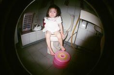 想要自己的房子/上廁所不用關門的自己的房子。