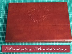 Personalised A5 Landscape Art Journal Folder by PemberleyBookbindery on Etsy