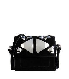 Barbara Bui Embroidered Suede 'Lipstick' Bag