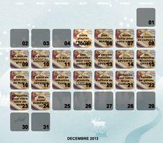 Un calendrier de l'avent pour nos Tchipies !