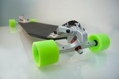 The Downhill Machine isn't your conventional longboard. With the adjustability of a race car packed into a skate, the DM was made for speed. Longboard Design, Skateboard Design, Longboard Decks, Skates, Bmx, Long Skate, Board Skateboard, Electric Skateboard, Skate Electric