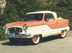 57-nash-metropolitan, cute little car but safety wise forget it!
