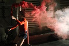 Smokey girl by Steelshots, via Flickr