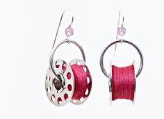 bobbin earrings - yes, i need a pair!!