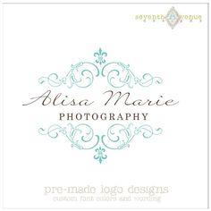 Custom Premade Logo Design  Alisa Marie by 7thavenuedesigns, $30.00