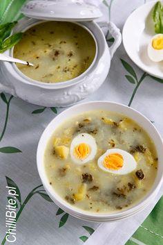 Soup Recipes, Healthy Recipes, Healthy Food, Polish Recipes, Polish Food, B Food, Cheeseburger Chowder, Food And Drink, Cooking