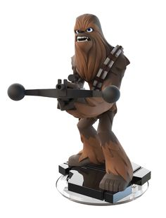 It's so cool to watch my daughter fall in love with Star Wars just like us - and Chewbacca is a family favorite. His extra strength would come in handy around our house - but even more so in Disney Infinity! #DisneyInfinity ad #JoinForces