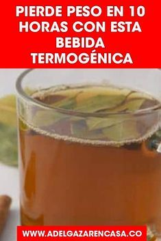 Bebidatermogenica Vientrehinchado Per - Food Drink Fitness Inspiration, Zero Calorie Drinks, Fat Cutter Drink, Detox Juice Recipes, Weight Loss Drinks, Natural Home Remedies, Loose Weight, Healthy Drinks, Wellness