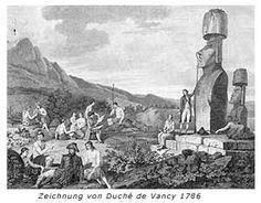 Die ersten Entdecker der Osterinsel fanden mystisch anmutende Steinkolosse vor