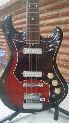 Teisco (unbranded) 1960's Audition 6 string solid body Japanese electric guitar
