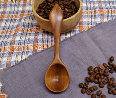 Wooden coffee scoop from apple wood,wooden spoon,wood spoon,measuring spoon,carved spoon,wooden kitchen utensils,wooden spoons,coffee scoop