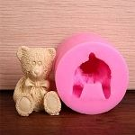 Large 3D Teddy Bear Silicone Mold