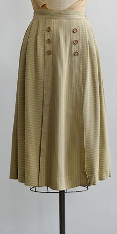 vintage 1940s skirt / One Fine Day Skirt from Adored Vintage #1940s #40svintage