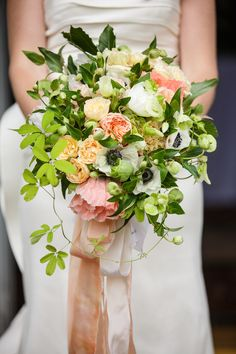 I like this bouquet but with more white and pink