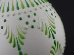 Wax-Embossed Egg Pysanka