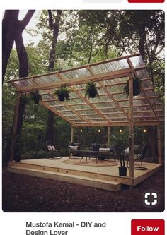 The pergola you choose will probably set the tone for your outdoor living space, so you will want to choose a pergola that matches your personal style as closely as possible. The style and design of your PerGola are based on personal Diy Pergola, Rustic Pergola, Building A Pergola, Pergola Ideas, Patio Ideas, Pergola Kits, Landscaping Ideas, Garden Ideas, Small Pergola