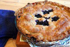 blackberry, raspberry, blueberry pie