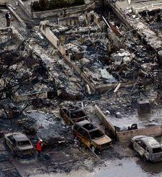 Photos: Fires, Flooding Devastate New York Neighborhood - SKYE on AOL