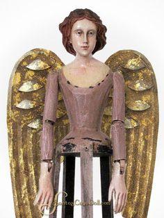 "SantosCageDoll.com — 20"" Santos Cage Doll, Mauve/Taupe"
