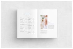 Wedding Magazine Guide on Behance