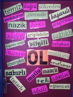 Sınıf kapısı Classroom Door