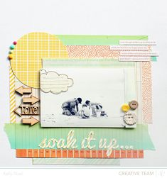 Soak It Up - Studio Calico Front Row Kit - Kelly Noel