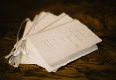 A Natural Rustic Wedding program... not sure if we want them, but these are great if we do.