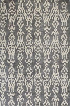RugStudio presents Bashian Chelsea S185-St246 Grey Hand-Tufted, Better Quality Area Rug