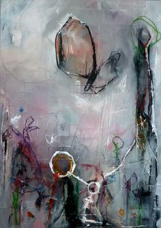 """Saatchi Art Artist: Michael Tierney; Acrylic 2013 Painting """"flying insects"""""""