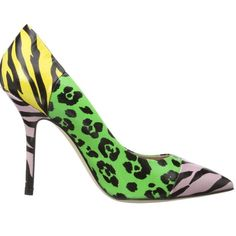 """CHEAPANDCHIC"" Moschino Heels Really cute leopard, zebra prints. Only worn about 3 times an hour or 2 at the most. Size Euro 38 1/2 (US size 8). Make me offers Moschino Shoes Heels"